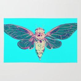 Flying Cicada Rug