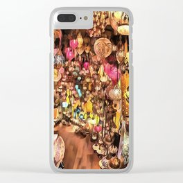 Lanterns, Lamps and Lighting of The Bazaar Clear iPhone Case