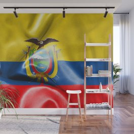 Ecuador Flag Wall Mural