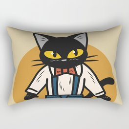 Little boy cat Rectangular Pillow