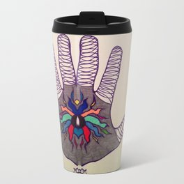Hand Of Happiness  Travel Mug