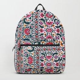 Shakhrisyabz Suzani Uzbekistan Embroidery Backpack