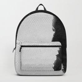 girl in shapes Backpack
