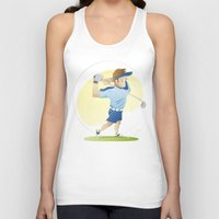golf Tank Tops featuring Golf by Dues Creatius