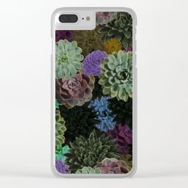Remember Succulent Clear iPhone Case