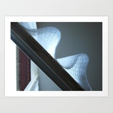Curtain Art Print