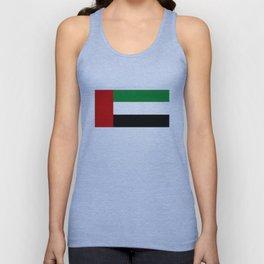 United Arab Emirates country flag Unisex Tank Top