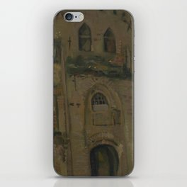 The Old Church Tower at Nuenen iPhone Skin
