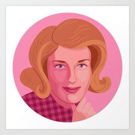 Queer Portrait - Lesley Gore Art Print