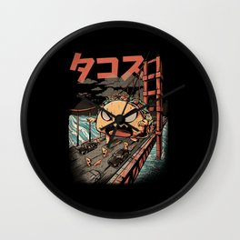 The Black Takaiju Wall Clock