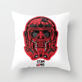 Protector of the Galaxy Throw Pillow