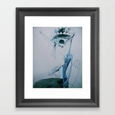 +x Framed Art Print