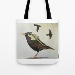 Resting on the Wings of Impatience Tote Bag