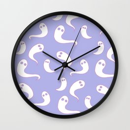 Tiny Ghosts Wall Clock