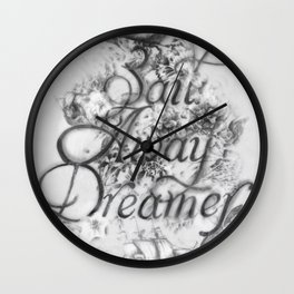 Sail Away Dreamer Wall Clock