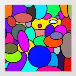 Smarties Galore Canvas Print