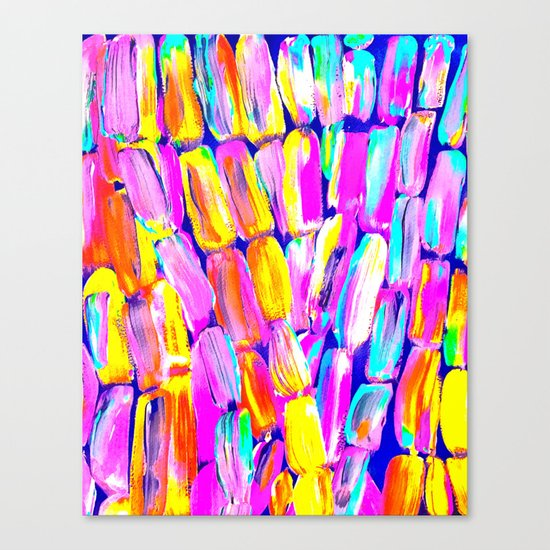 Party Fiesta Sugarcane Canvas Print
