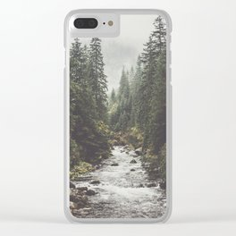 Mountain creek - Landscape and Nature Photography Clear iPhone Case