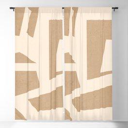 Minimal Abstract Art 49 Blackout Curtain