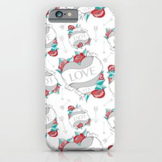 Heart Tattoo pattern iPhone 6s Slim Case