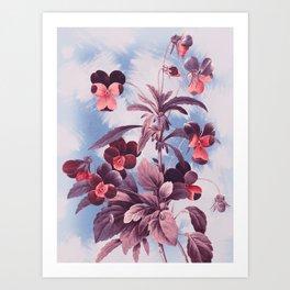 Vintage Flowers II Art Print