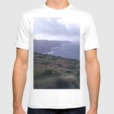 Cliffs of Moher - I Mens Fitted Tee White MEDIUM