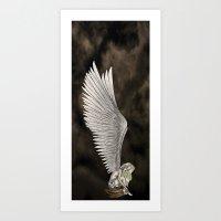 Angel's Wings Art Print