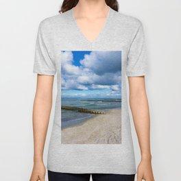 Beach walk - Holiday feeling Unisex V-Neck