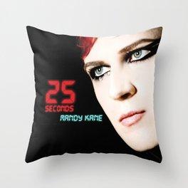 25 SECONDS - EP ARTWORK Throw Pillow