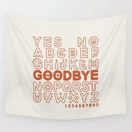 Plastic Bag Ouija Board Wall Tapestry