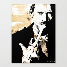 Hugh Laurie/Dr. Gregory House Canvas Print