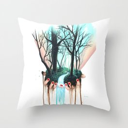 In my hands Throw Pillow