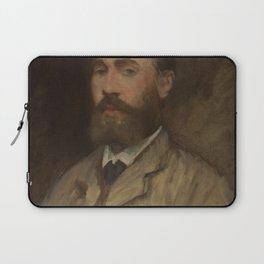 Edouard Manet - Jean-Baptiste Faure (1830–1914) Laptop Sleeve