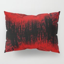 RED MOON FOREST Pillow Sham