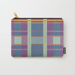 Setting Sun Plaid Carry-All Pouch