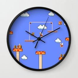 Mario Sky Wall Clock