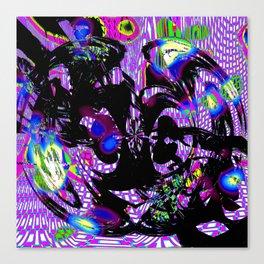 Traumatized Canvas Print