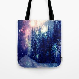 Galaxy Forest : Deep Pastels Tote Bag