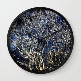 Earth Meets Sky Treescape Wall Clock