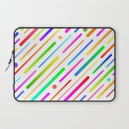 Colorful abstract geometric pattern #boho Laptop Sleeve