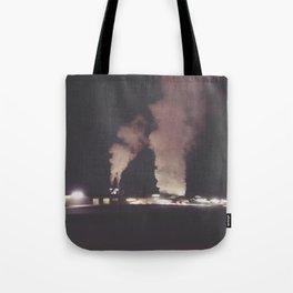 Industrial Fog Tote Bag