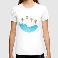 hot air balloons T-shirts featuring hot air balloons by studiomarshallarts
