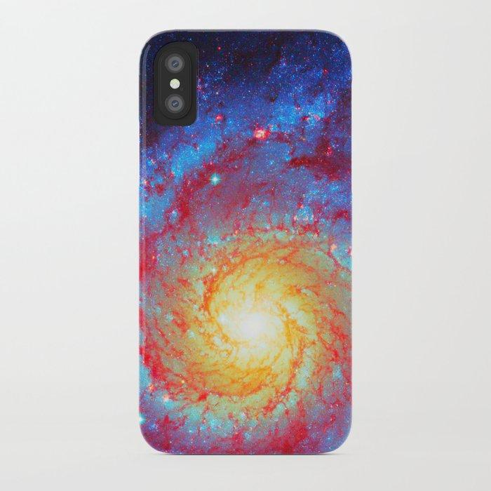 Spiral Galaxy iPhone Case