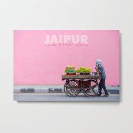 Jaipur: The Pink City Metal Print