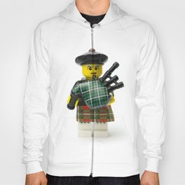 Scottish bagpipes Minifig Hoody