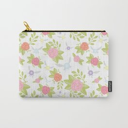 Garden of Fairies Pattern Carry-All Pouch