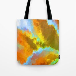 Fluctuation Color Alt Tote Bag