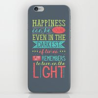 happiness iPhone & iPod Skins featuring Happiness by Dorothy Leigh