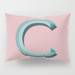 c blush Pillow Sham