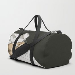 Lazy day in bed Duffle Bag